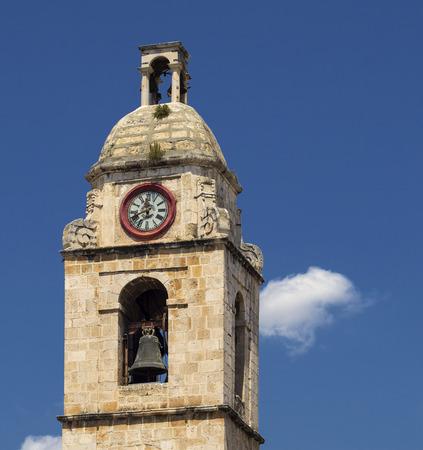 daunia: Bell tower of Manfredonia - Gargano - Apulia