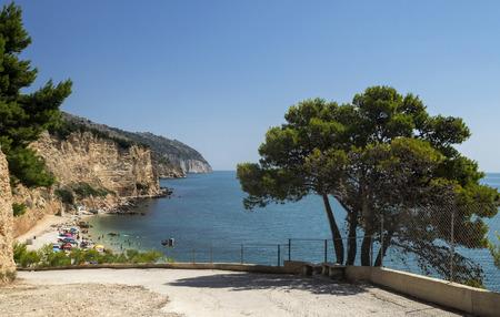 foggia: Beach of Punta rossa in Mattinata - Gargano - Apulia