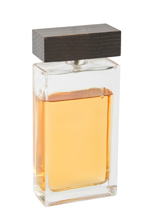 parfum: Bottle of parfum spray of water isolated on white background