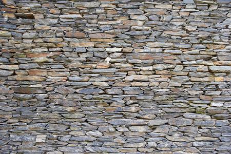 Het oppervlak van de stenen muur achtergrond