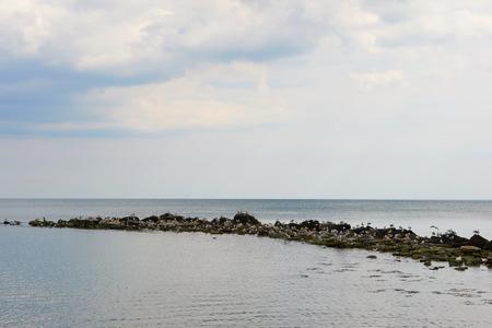 Seashore Balchik Bulgaria photo