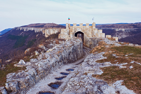 fortress: Fortress. A medieval fortress in Bulgaria - Provadia, Ovech
