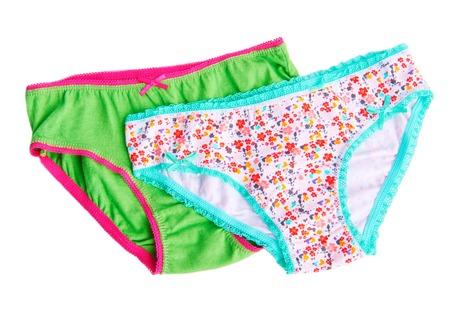 boy underwear: Pants childrens, underwear isolated on white background Stock Photo