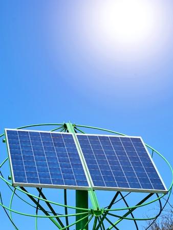 Solar Panels Power Energy modern technologies, Renewable Stock Photo