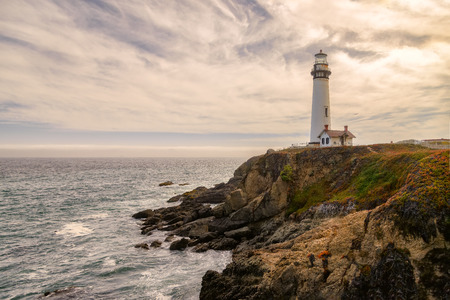 Lighthouse Pigeon Point, California