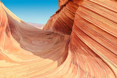 Plateau the Wave, Coyote Buttes North, Utah photo