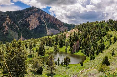 イエローストーン国立公園 (ワイオミング州) 写真素材