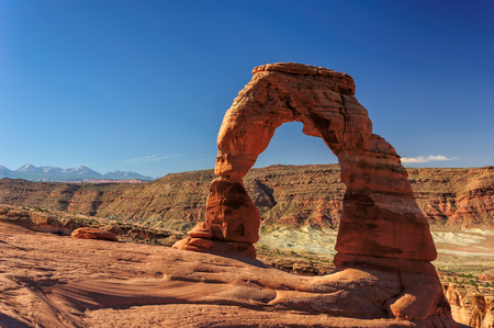 delicate: Beautiful Delicate Arch, Arches National Park Utah