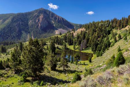 Yellowstone, Wyoming, USA Stock Photo