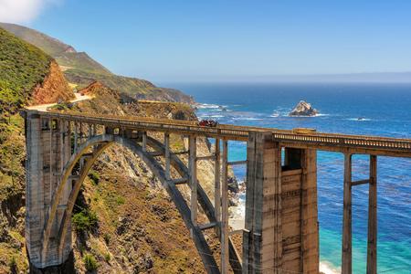 bixby: Bixby Bridge on Highway # 1, on the California coast, Big Sur Area