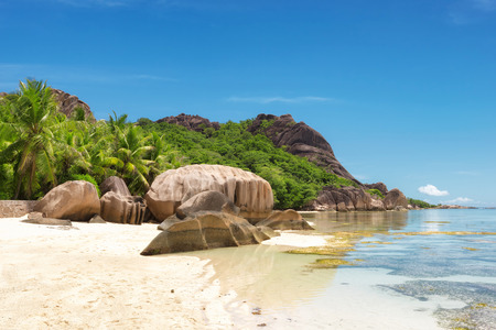 Anse Source dArgent beach, La Digue Island, Seyshelles