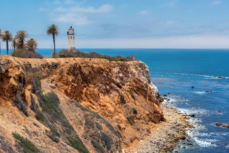 Point Vicente lighthouse in Rancho Palos Verdes, Los Angeles, California.