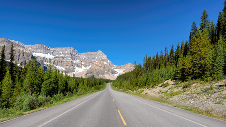 Road Trip in the Rocky Mountains, Canada.