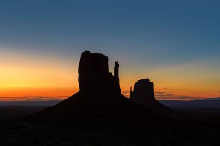 Beautiful Monument Valley at Sunrise in Utah