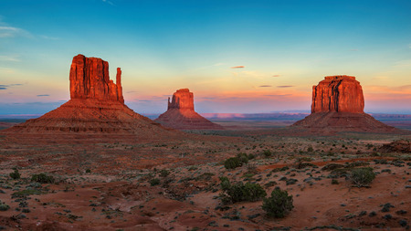Monument Valley at sunset 写真素材