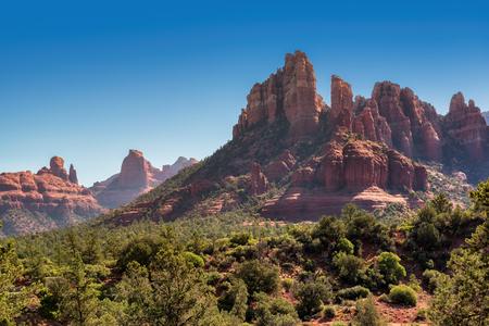 Beautiful red rocks in Sedona, Arizona Stock Photo