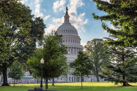 US Capitol Building dome detail - Washington DC