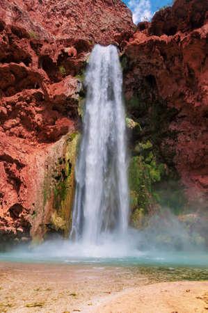 Grand Canyon, Mooney Falls, Havasupai Indian Reservation, Arizona