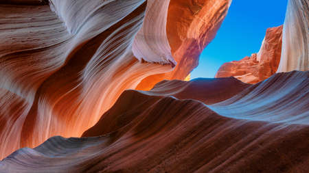 Antelope Canyon - natural rock formation, Page, Arizona.