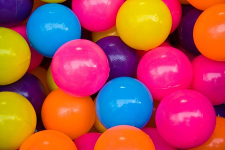 fish in ball: full color balls Stock Photo