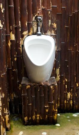 White urinal photo