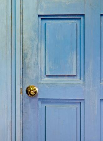 hinged: Closeup vintage door