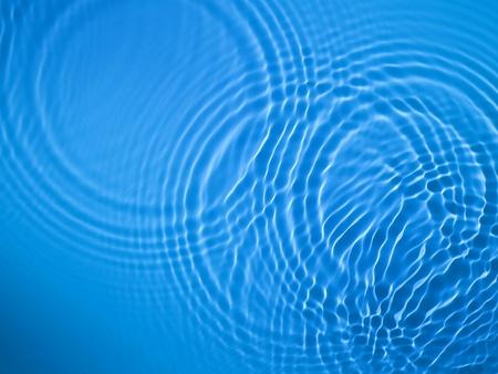 Blue circle water ripple background Stock Photo - 12734846
