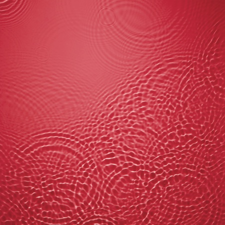 Red circle water ripple background