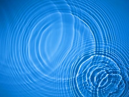 Blue Circle acqua sfondo ripple Archivio Fotografico - 12734849