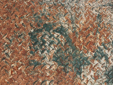 Texture of old rusty metal plate Stock Photo - 13384664