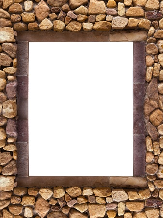 Frame stones for spa background
