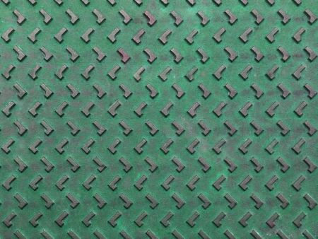 Texture of green and grunge rusty steel plate for background Stock Photo - 14717363
