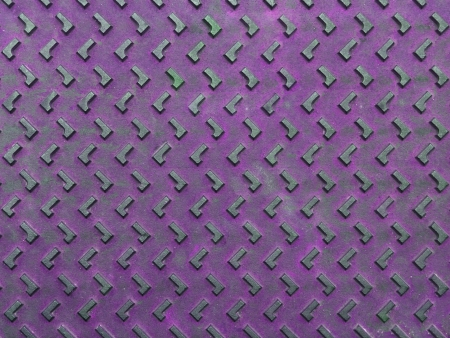 Texture of violet and grunge rusty steel plate for background Stock Photo - 14717374