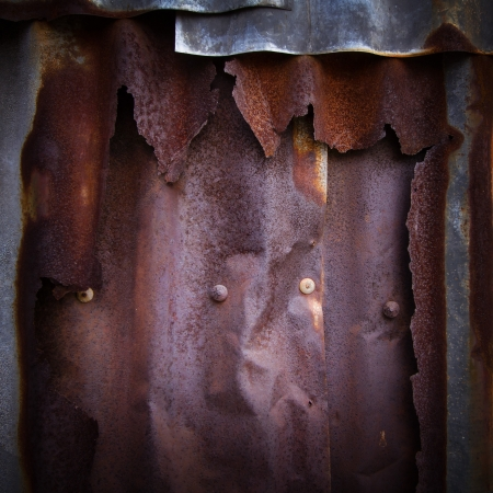 Rusty zinc grunge texture for background Stock Photo - 18320331