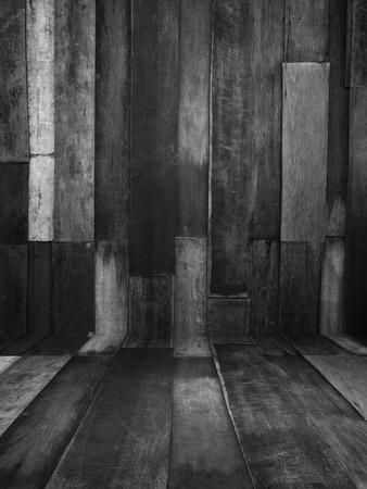 vintage old and grunge wood panels background