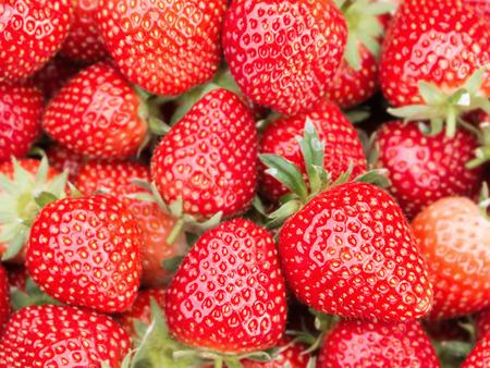 fresh strawberry for background Stock Photo