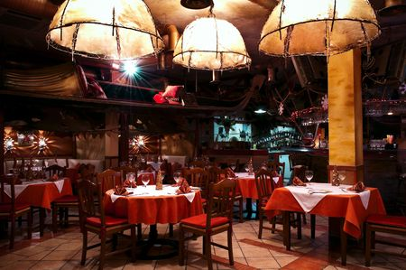 Italian restaurant Stock Photo - 6536927