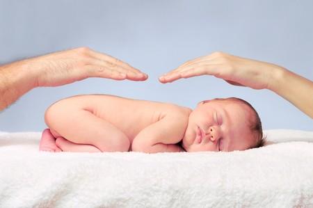 newborn sleeping baby Stock Photo - 7761899