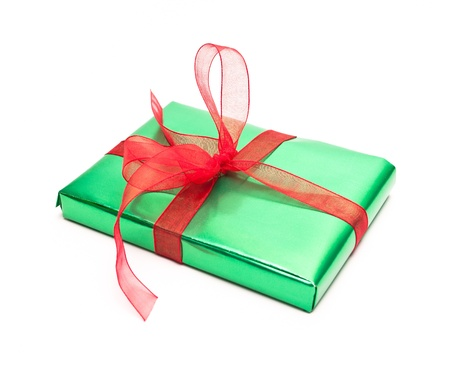 gift box isolated on white background Stock Photo - 8649706