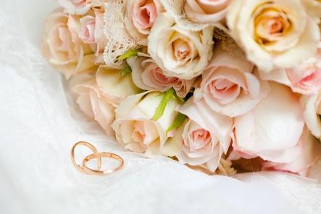 Dies ist Nahaufnahme von Hochzeit bouquet Standard-Bild - 11792821