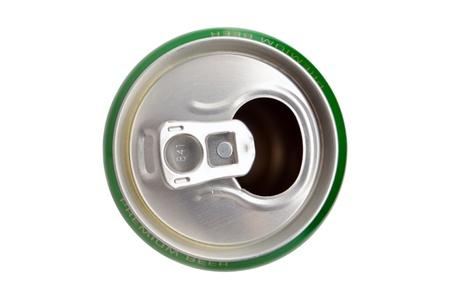 cola canette: Ceci est en aluminium peut isolé sur fond blanc