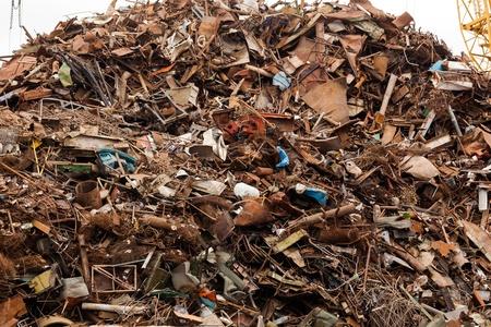 rubble: The massive pile of scrap metal