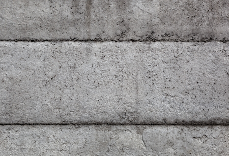 Close up texture of old stone wall photo