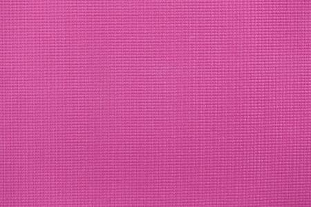 mats: Photo of pink yoga mat closeup. Stock Photo