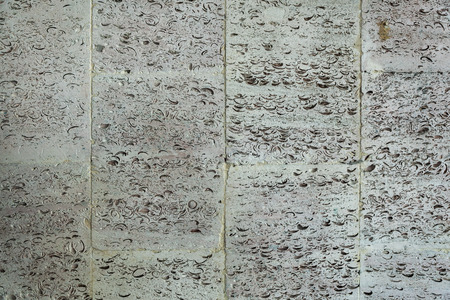 tiled wall: This is old tiled wall background.