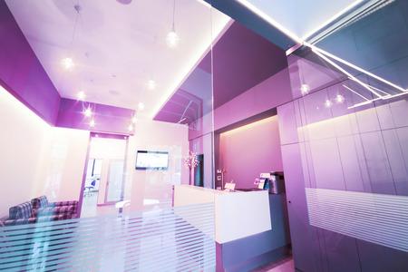 Moderne inter-Design. Lobby in Zahnklinik. Standard-Bild - 58043100