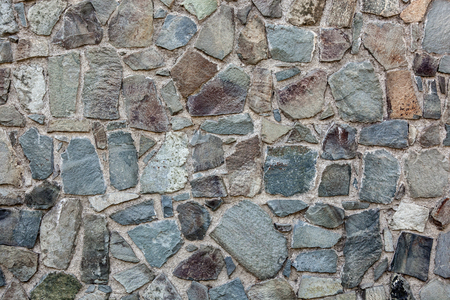 greece granite: Close up of an old stone wall.