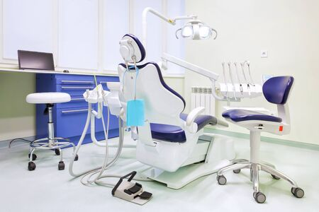 This is Interior of modern dental clinic.