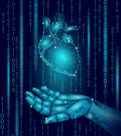 Human heart illustration.