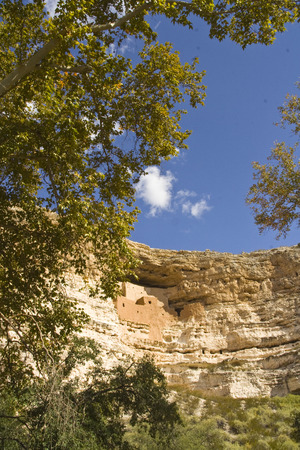 dwellings: Montezuma Castle Cliff Dwellings